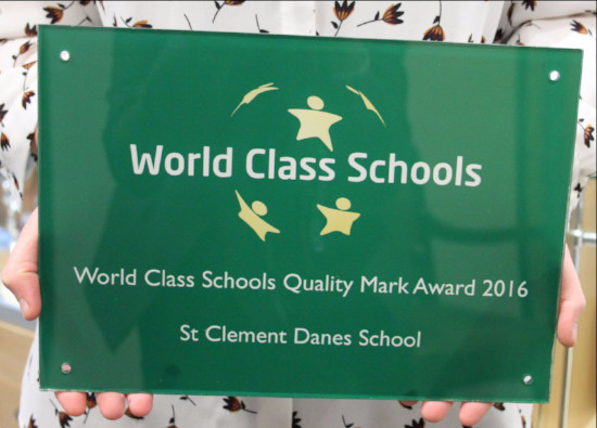 It's Official - SCD students are 'World Class'
