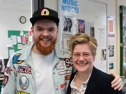 Jack Garratt visit April 2016