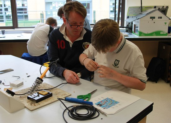 Parents go back to school for a STEM evening