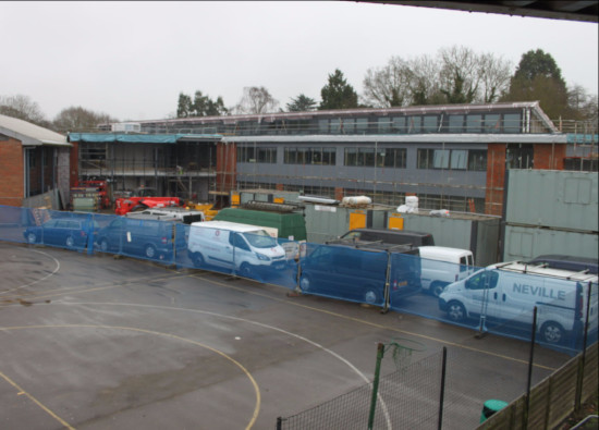 New building takes shape