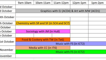 Year 11 October Half Term Revision