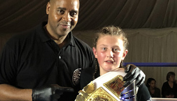 Kickboxing Champ in Year 10