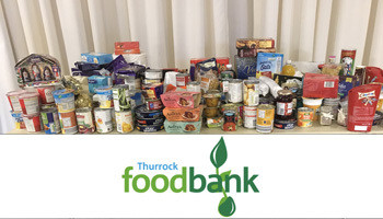 Thurrock Foodbank Donation