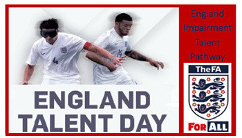 Talent Day for Impaired Footballers