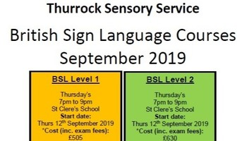 British Sign Language Lessons