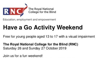Have a Go Activity Weekend - Information