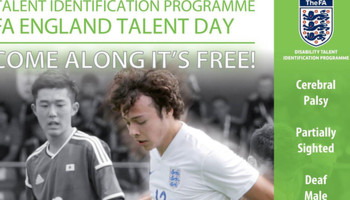 England FA Disability Talent Day