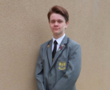 Head Boy Aaron McAllister