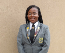 Head Girl Priscilla Williams