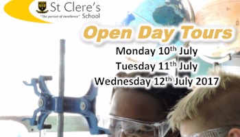 Open Days for 2018 Entry