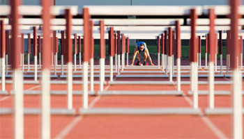 Joe Sets New English Schools' 80m Hurdles Record