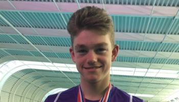 Kieron to swim for Great Britain