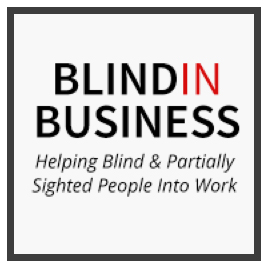 Blind in Business helping blind and partially sighted people into work