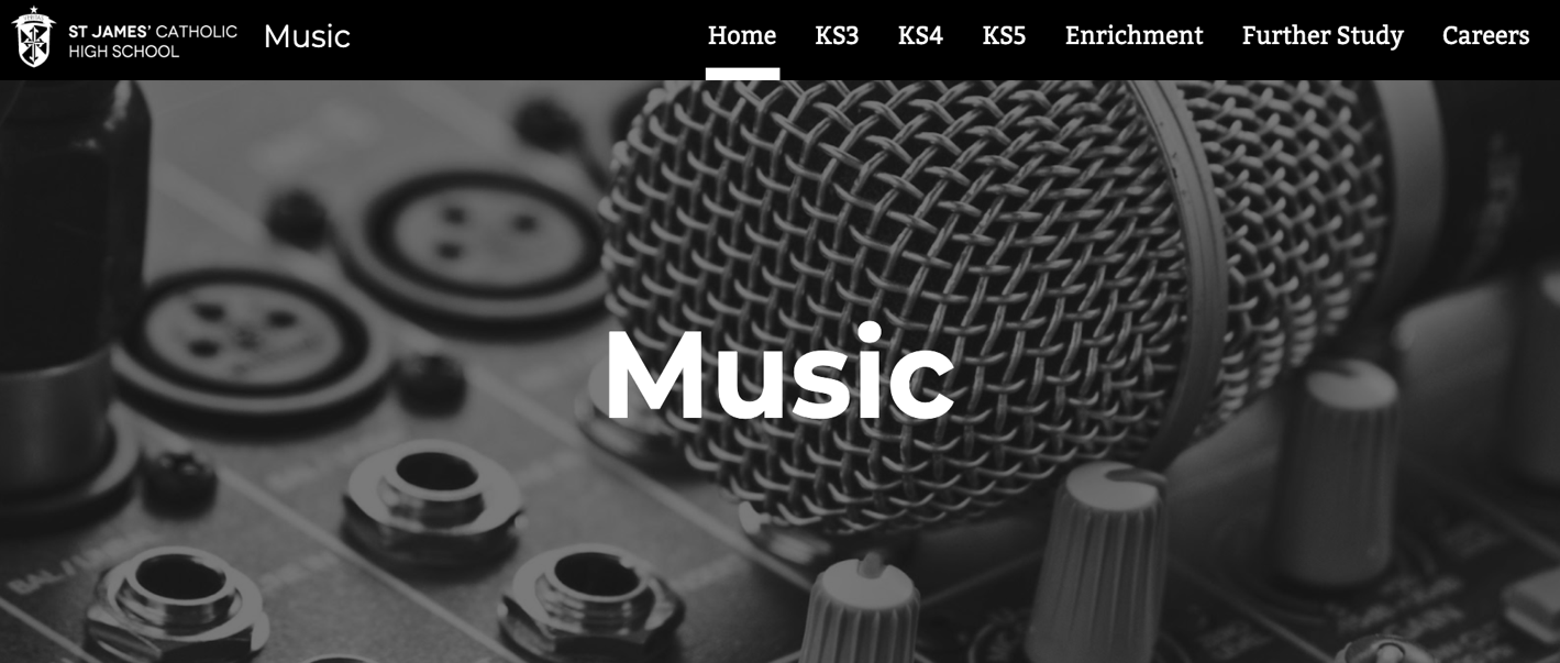 Music website