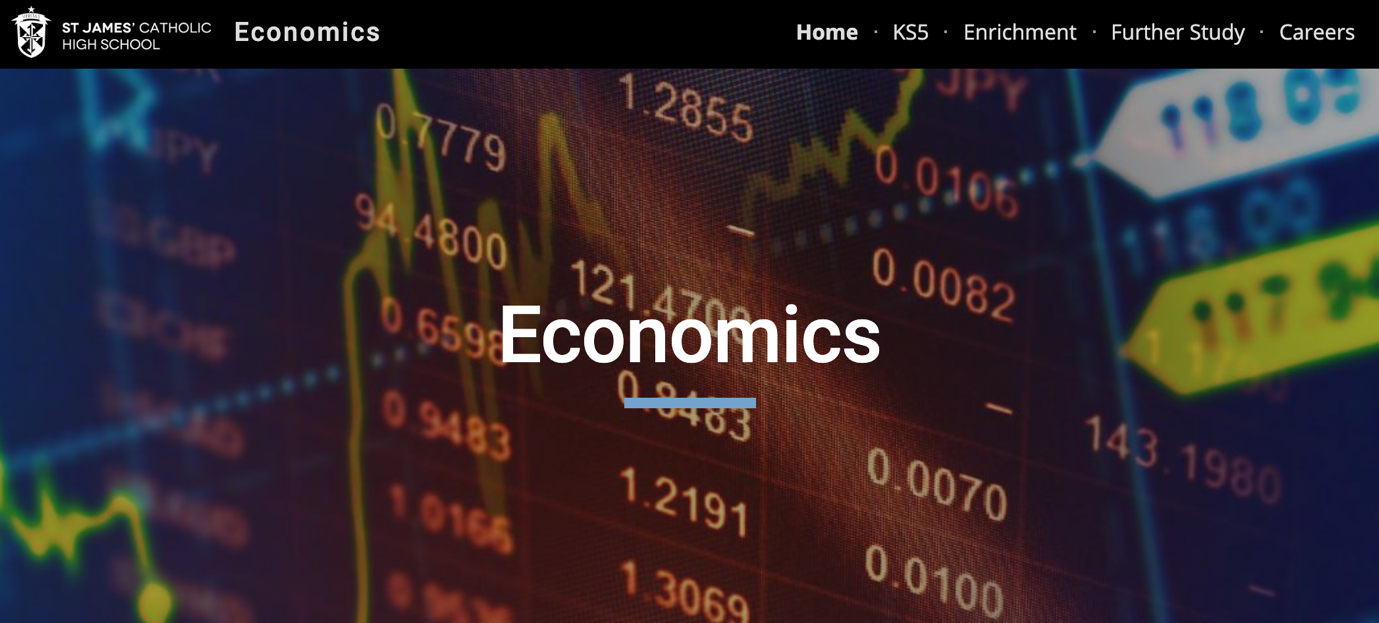Economics website