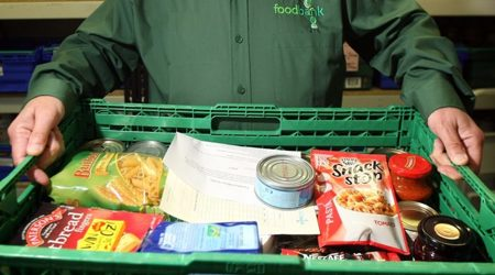 Colindale Food Bank  Campaign
