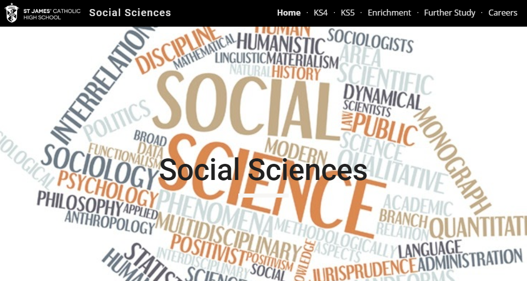 Social sciences website