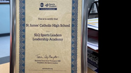 National Bespoke Leadership Academy Award from Sports Leaders UK