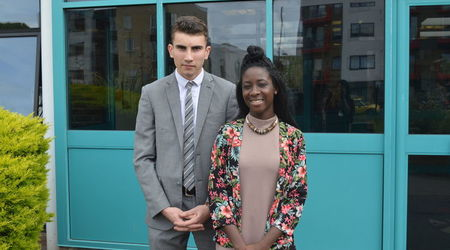 Meet Our New Head Boy & Girl