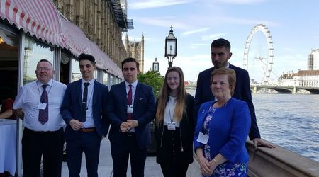 Visit to House of Common and House of Lords
