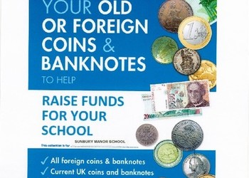 PLEASE DONATE YOUR OLD COINS