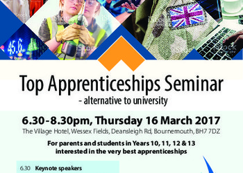 Top Apprenticeship Seminar - Twynham Learning