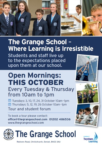 Grange Open Morning