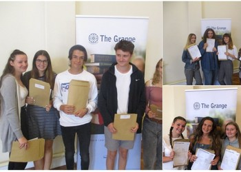 Significant improvement in GCSE results for The Grange School.