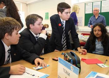 Budding Scientists take part in the Faraday Challenge