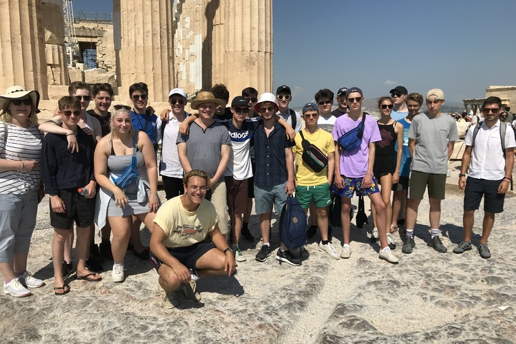 TWGSB Philolosphy Trip to Athens 2018