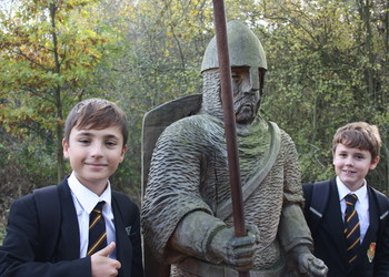 The last of four Year 7 Trips to Battle Abbey this Autumn.