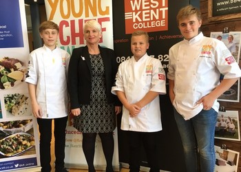 Cameron Jones wins 'Kent's Young Chef' award 2018