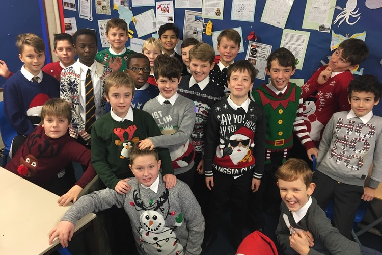 TWGSB Year 7 Christmas Jumpers 2018
