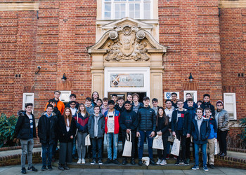 Year 11 and Year 12 visit St Hugh's College, Oxford