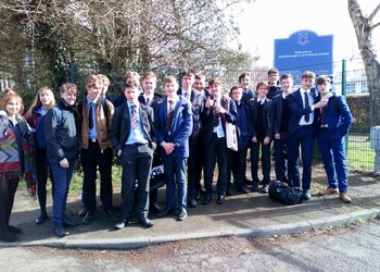 Sixth Formers take part in World Book Day at Southborough Primary School