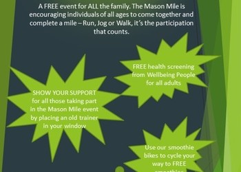 The Mason Mile comes to TWGSB