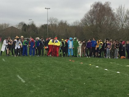 Sixth Form Charity Fancy Dress Run