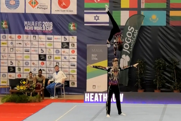 Sam Large Acrobatic Gymnastics
