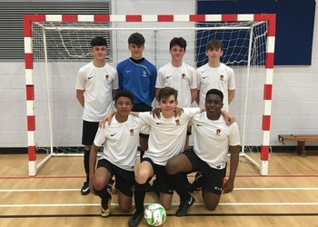 Year 10 Futsal Team reach the Grand Final of the FA Youth Futsal Cup