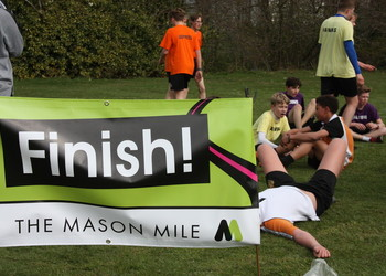 The Mason Mile @ TWGSB: Wednesday 3rd April, From 12pm to 3pm