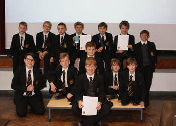 Year 7s celebrate Shakespeare's birthday