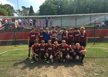Year 8 win the West Kent Football Cup