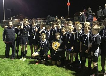 Year 9 Rugby win the Kent Shield