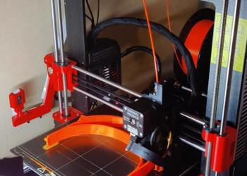 3D printer used to print frames for PPE visors for hospitals and carehomes