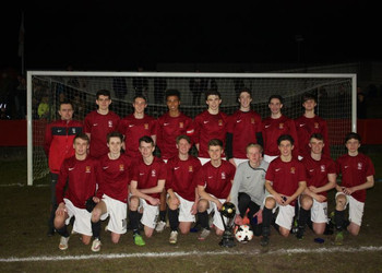 Football: U17 win the Kent Cup