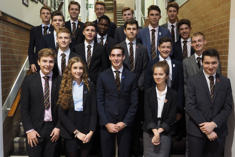 Sixth Form Senior Prefects and Head Students 2016-2017