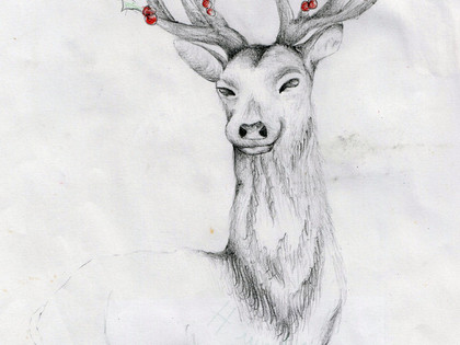 Art Christmas Cards