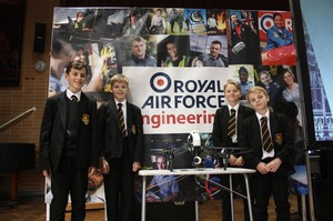 Royal Airforce Engineering visit TWGSB