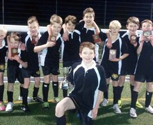 Y7 B Team inter house football Ospreys