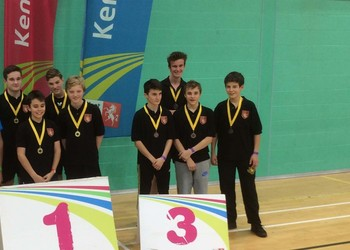 Kent Schools Table Tennis U16 Champions